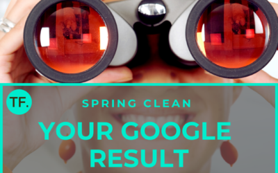 Spring clean your Google result