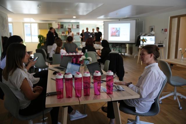 Networking events help counter Swiss tech gender gap