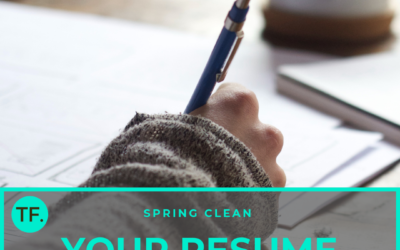 Spring clean your resume