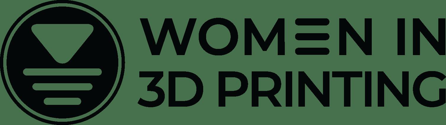 Women in 3D Printing Logo