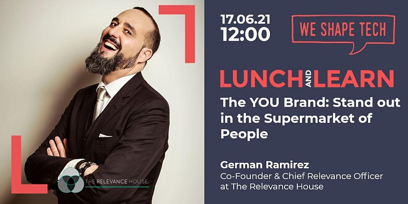 We Shape Tech Lunch and Learn The YOU Brand