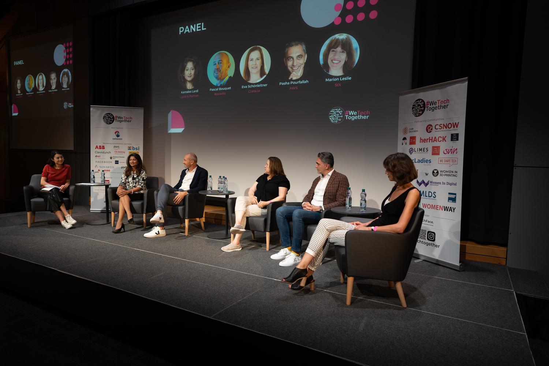 #wetechtogether conferene 2021 - Panel